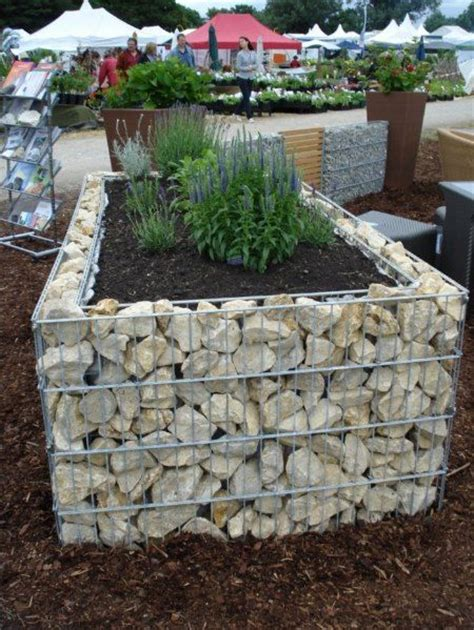 The 25 Best Ideas About Stone Raised Beds On Pinterest How To Build A Rock Garden Bed