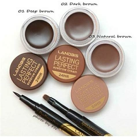 Eyebrow Gel Landbis jual landbis eyebrow gel 3 in1 with eyeliner brush