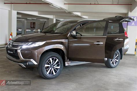 mitsubishi indonesia 2016 review pajero sport baru 2016 indonesia autonetmagz