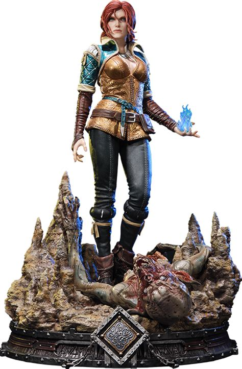 witcher 3 figure the witcher 3 hunt triss merigold of maribor statue