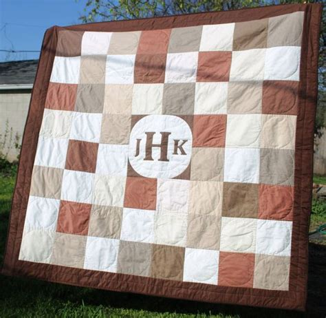 Wedding Quilts by Monogram Wedding Quilt Signature Guest Book