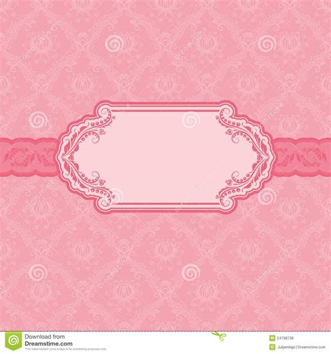 greeting card frame template template frame design for greeting card stock vector