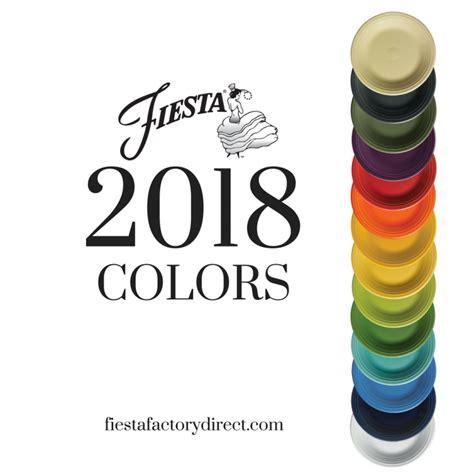 fiestaware colors 2018 new color announcement