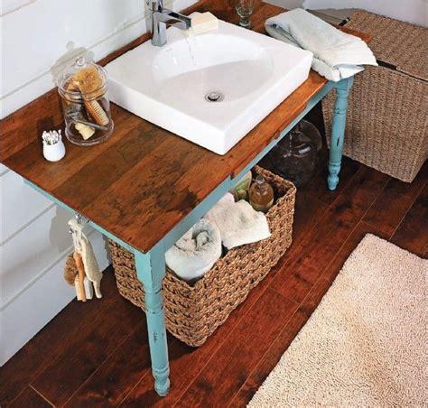 homemade bathroom sinks diy bathroom vanity home decor pinterest furniture
