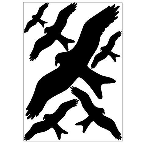 Fenster Aufkleber Vogelschutz by Vogel Aufkleber F 252 R Fenster Wintergarten 6 Stk Warnv 246 Gel