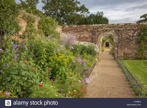 the walled garden at felbrigg gardens and estate