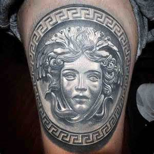 80 medusa tattoo designs for men snakes to stone