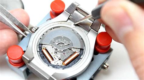 seiko capacitor replacement how to change replace your seiko kinetic battery capacitor