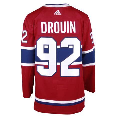 design new jersey circulation jonathan drouin montreal canadiens adizero jersey