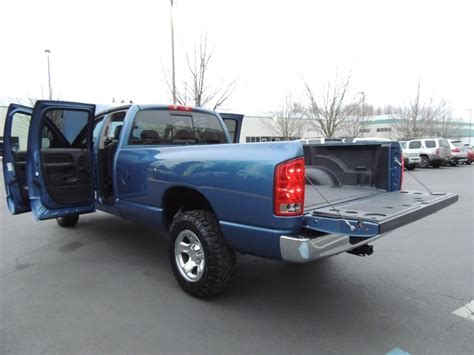 dodge ram 1500 quad cab bed size 2005 dodge ram 1500 quad cab 4x4 5 7l 8cyl gas long bed