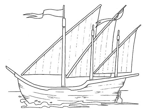 coloring pages of the nina pinta and santa maria free nina pinta santa maria coloring pages