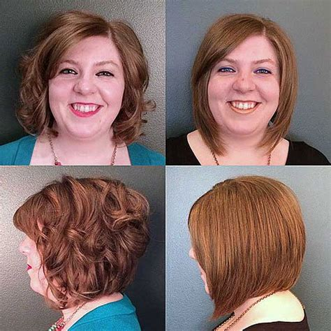 bob haircuts on chubby faces 30 stylish and sassy bobs for round faces