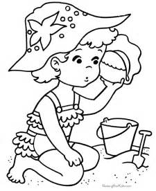 beach coloring pages homemade coloring books coloring home