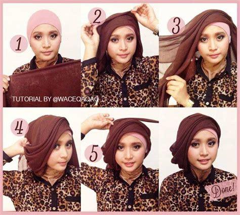 tutorial hijab pesta inivindy 3 style terbaru tutorial hijab pesta oleh vindy harfrida