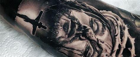 60 jesus arm tattoo designs 80 3d tattoos for three dimensional illusion ink