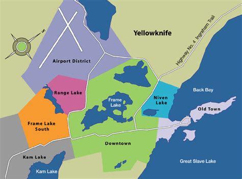 printable map of yellowknife yellowknife canada map adriftskateshop