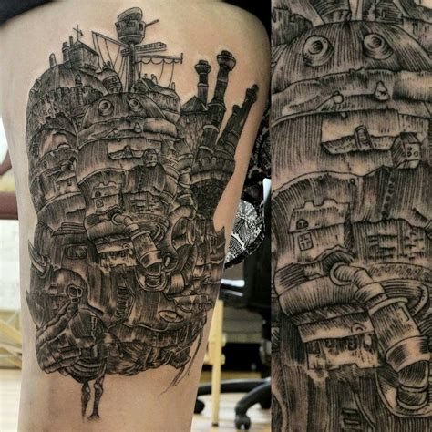 end of days tattoo fyeahtattoos howl s moving castle by jonathan