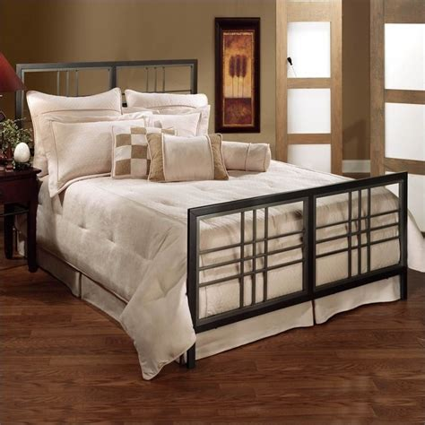 bedrooms with metal beds hillsdale tiburon metal bed in magnesium pewter finish 1334bxr
