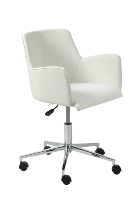 white desk chair stylish and comfortable office chairs you must see