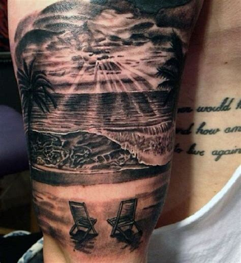 tribal sunset tattoo tattoos on palm tree tattoos tattoos and