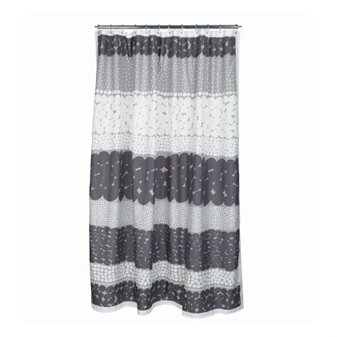 marimekko curtains marimekko jurmo grey white shower curtain marimekko