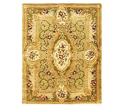 qvc area rugs royal palace royal palace 7 x 9 heritage medallion handmade rug wool the o jays and handmade
