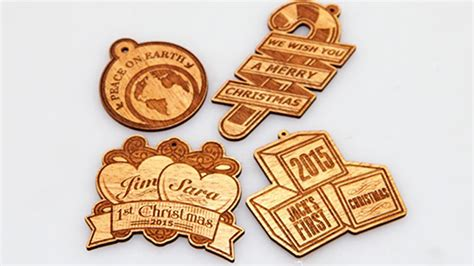 Wedding Wishes Engraving by Laser Cut And Engraved Ornaments