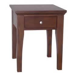 ore international fraser end table 1 drawer by oj commerce
