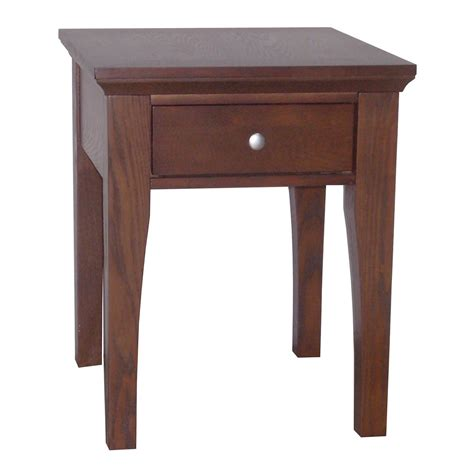 ore international fraser end table 1 drawer by oj commerce