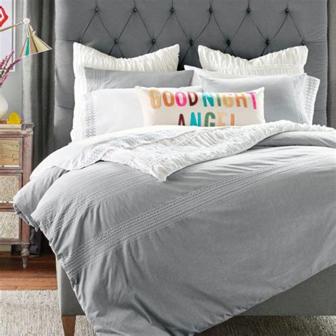 Chambray Bedding by Embroidered Chambray Bedding Grandin Road