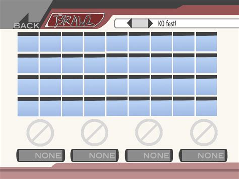 Brawl Roster Template By Teh Silver Wolfeh On Deviantart Smash Bros New Character Template