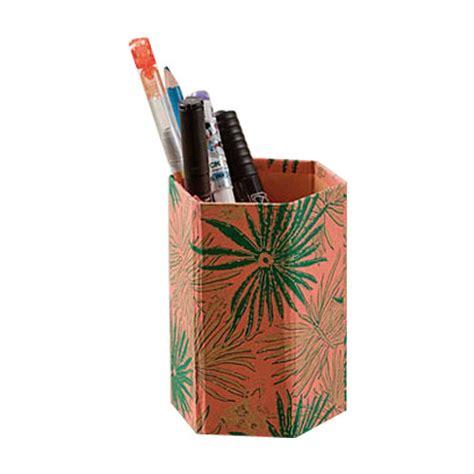 Handmade Pen Stand Designs - handmade paper pen stand manufacturer from jaipur