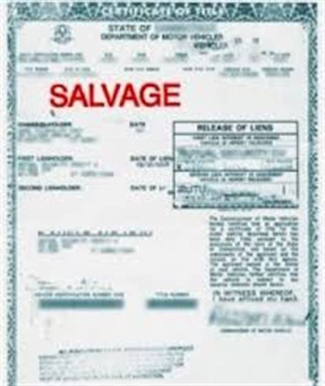 Rebuilt Title Means by Should I Purchase A Used Car With A Salvaged Or Branded