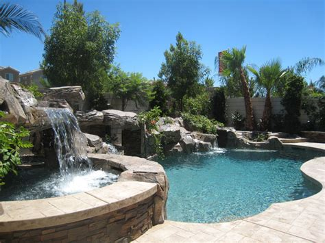 freeform pools henderson pool builders concrete inground pools in nevada