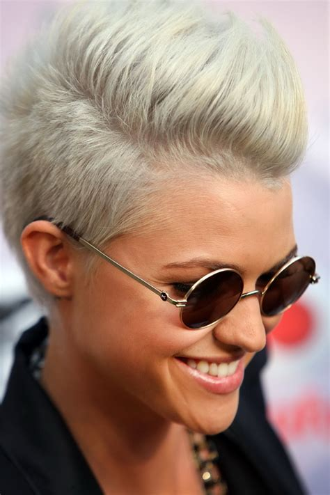 funky super short haircuts for heavy set women funky hairstyles for women