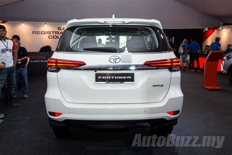 Toyota Gear Price Malaysia 2016 Toyota Fortuner Launched In Malaysia Priced At