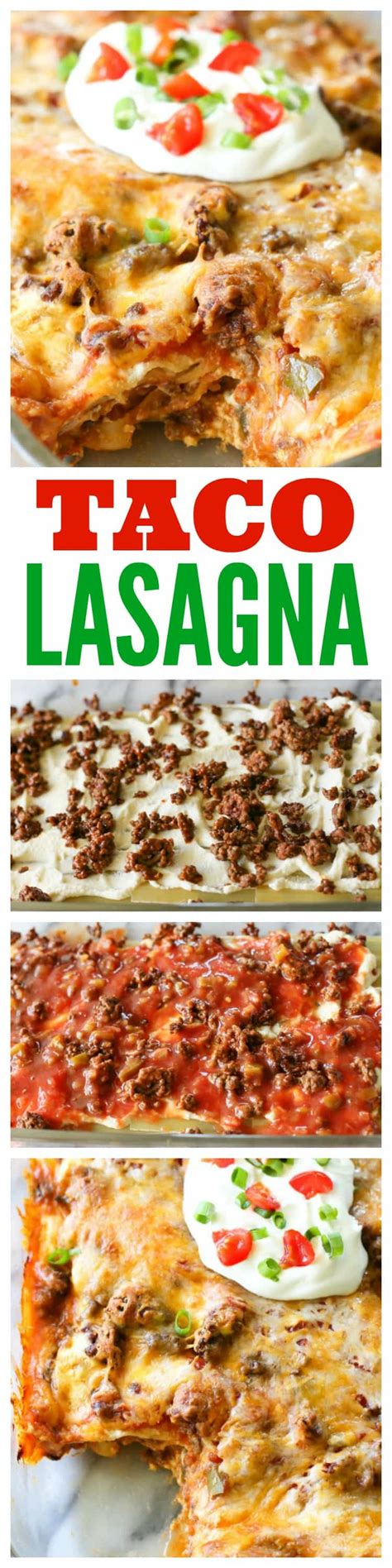 taco lasagna only 7 ingredients