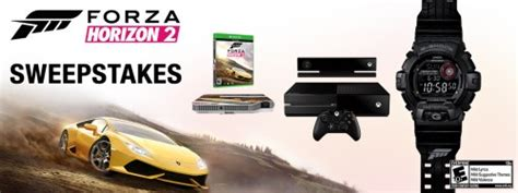 Forza Sweepstakes - announcing the winners of the casio forza horizon 2 sweepstakes