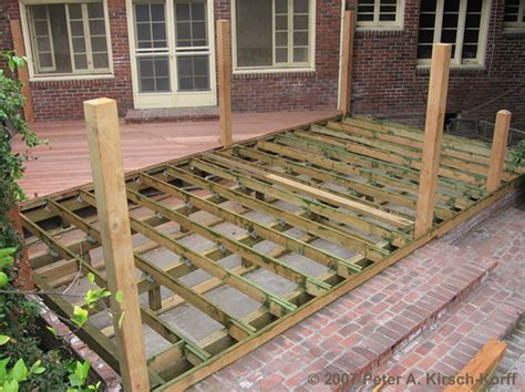 Tie Mounting Base Cs 101 20x20 article when should you replace your wood deck