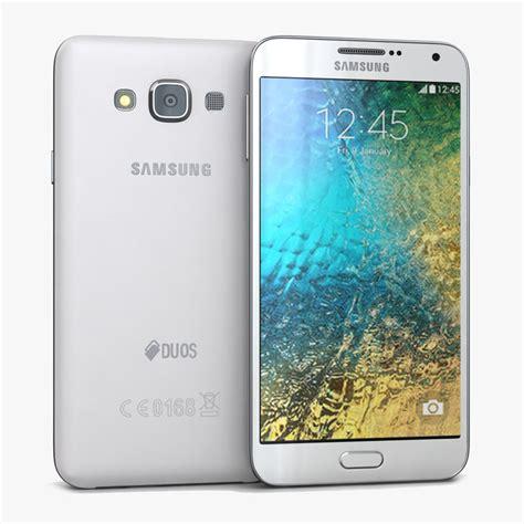 samsung e 7 3d model samsung galaxy e7 white