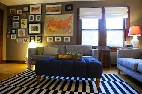 die attraktive wohnzimmereinrichtung retro look