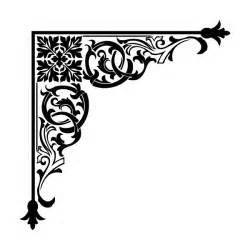 corner design 25 best ideas about stencil designs on pinterest