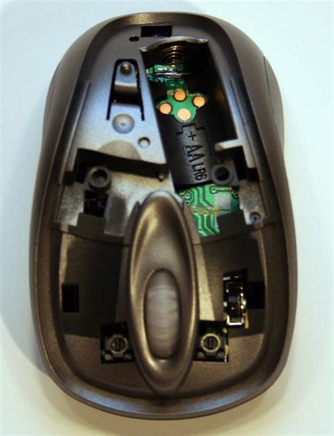 cracking open microsofts wireless notebook optical mouse