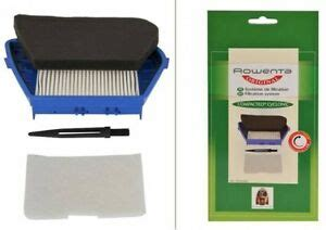 rowenta hepa filter zr004601 vacuum cleaner compacteo cyclonic ro3421 ro3486 3221613010102 ebay