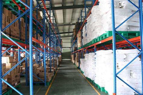 conventional cold rolled steel storage pallet racking