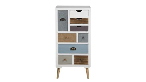 kommode highboard weiss kommode highboard wei 223 mit 9 schubk 228 sten bunt