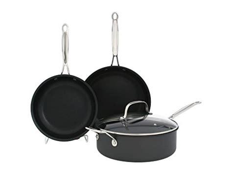 Oxone Classic Cookware Set cuisinart chef s classic nonstick anodized 14 cookware set gastrocoach
