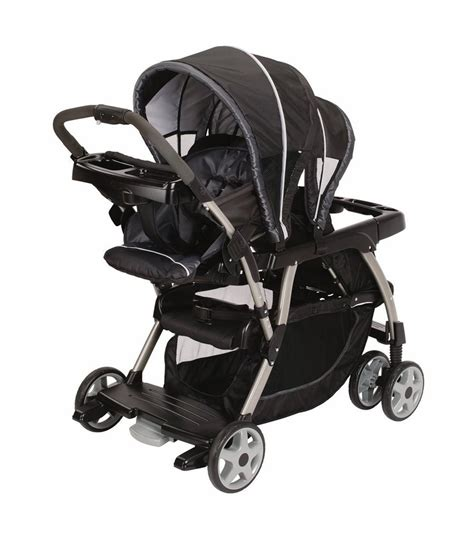 How To Recline Graco Stroller by Graco Ready2grow Classic Connect Lx Duo Stroller Metropolis