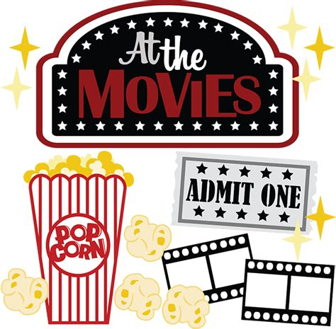 love themes in movies at the movies svg scrapbook files movie svg file for