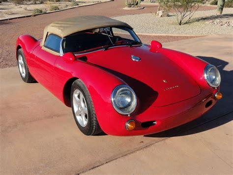 Porsche 550 Kit Car For Sale by 1955 Porsche 550 Spyder Replica Kit For Sale